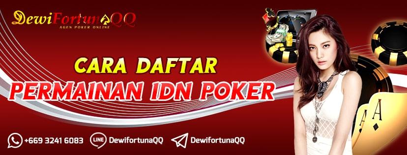 cara daftar game idn poker
